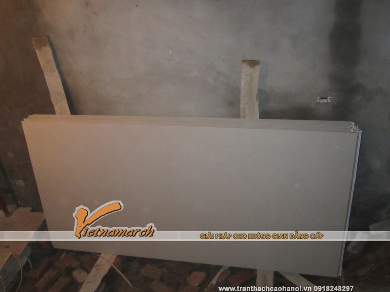Tấm thạch cao Gyproc thường được sử dụng phổ biến cho các công trình tran thach cao