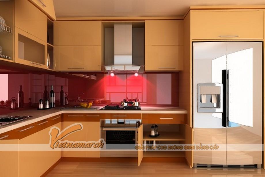 Lựa chọn thiết kế tủ bếp cao cấp cho không gian nhà bếp hiện đại và tiện nghi
