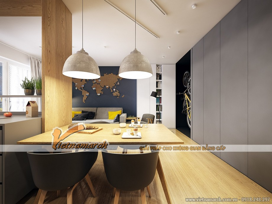 Nội thất bàn ăn mang phong cách Bắc Âu - Đan Mạch