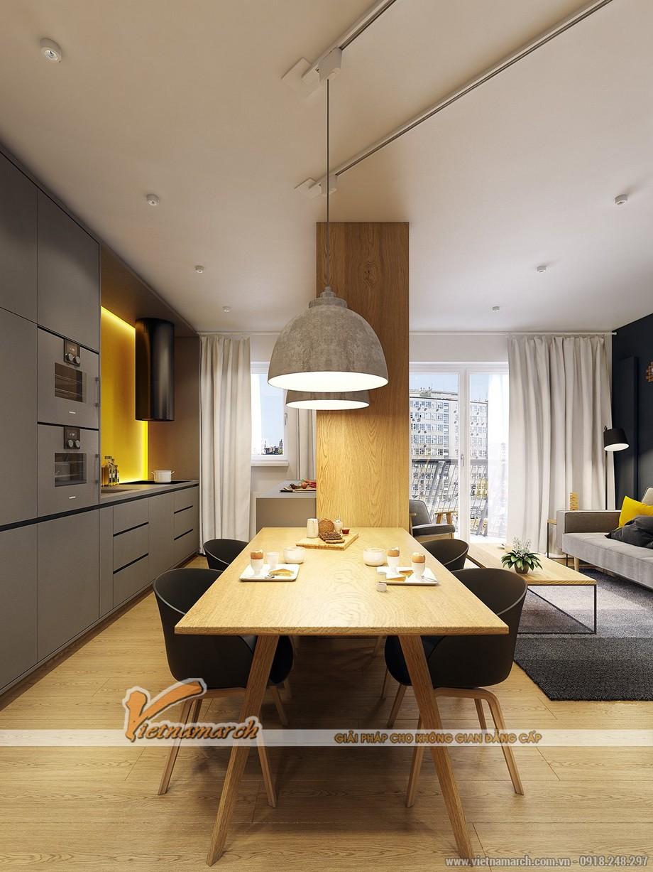 """Thiết kế nội thất phòng bếp tinh tế """"ẩn núp"""" sau không gian bé nhỏ"""