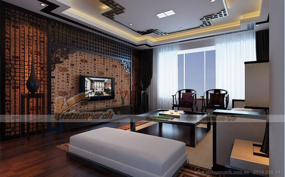 Thiết kế nội thất căn hộ mẫu chung cư park hill Times City