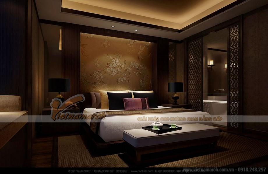 Thiết kế nội thất phòng ngủ căn hộ 02 Park 8