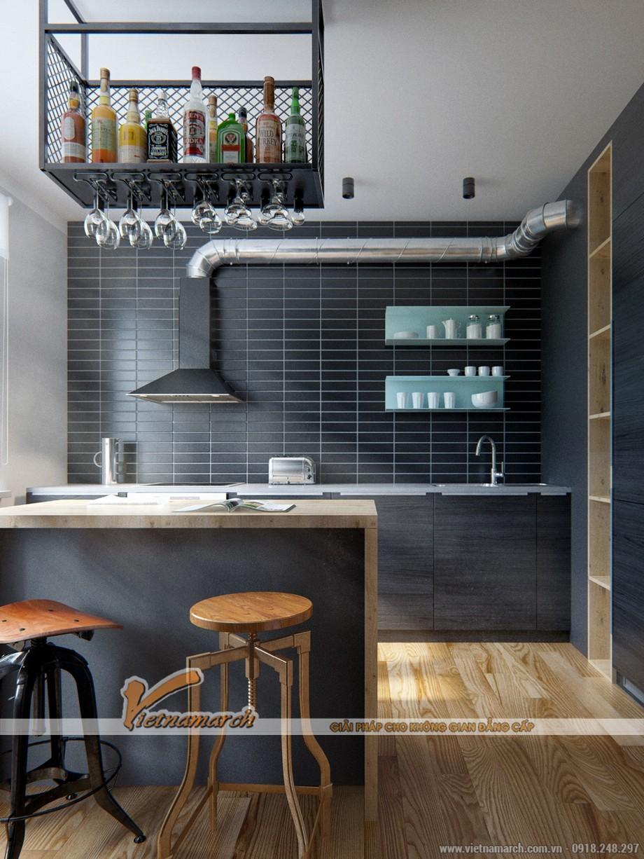 """Thiết kế căn bếp với những nội thất """"công nghiệp"""" mạnh mẽ và độc đáo"""