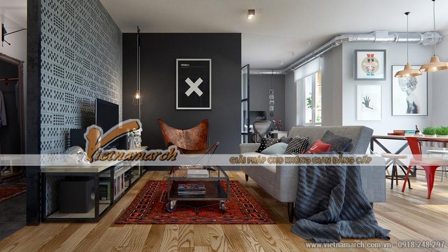 """Thiết kế nội thất đa dạng khác nhau tạo nên căn hộ """"điện tử"""""""