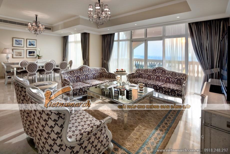 Nội thất căn hộ Penhouse chung cư D'. LE ROI SOLEIL – Quảng An – Tân Hoàng Minh