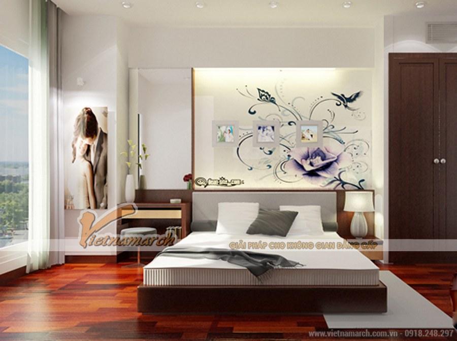 Thiết kế nội thất phòng ngủ ngọt ngào, sâu lắng cho cặp vợ chồng