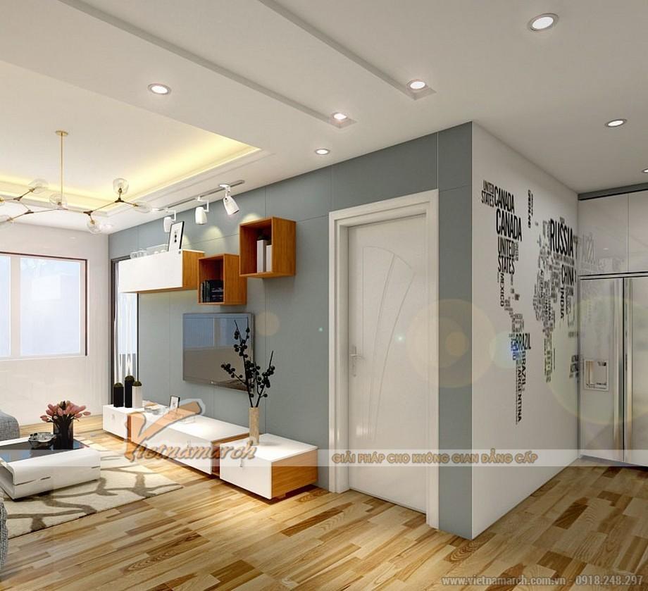 Thiết kế nội thất căn mẫu chung cư Park Hill Times City