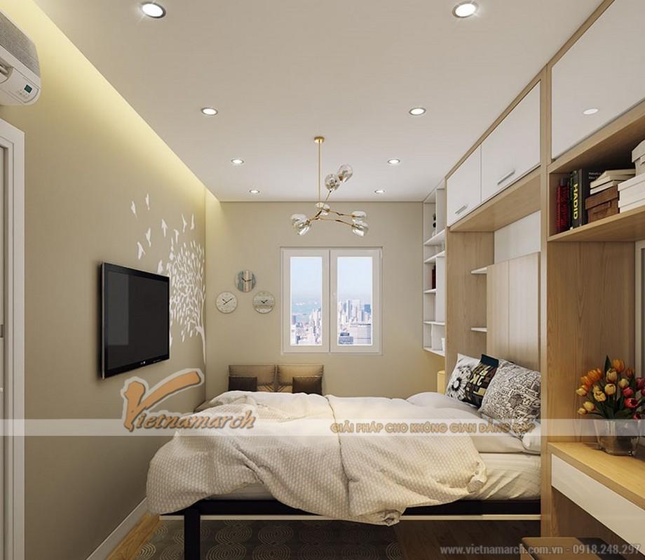 Thiết kế nội thất phòng ngủ chung cư Park Hill Times City