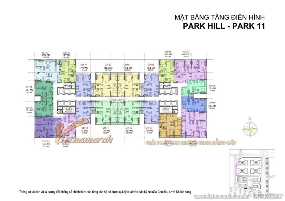 Thiết kế nội thất căn hộ chung cư Park Hill- Park 11