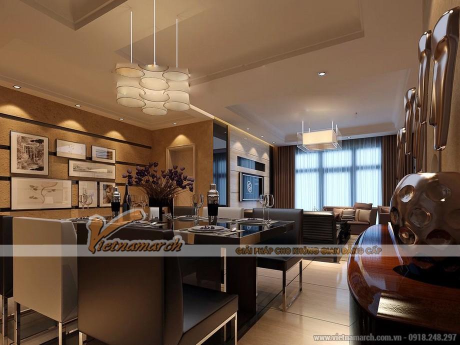 Phòng ăn sang trọng nội thất cao cấp