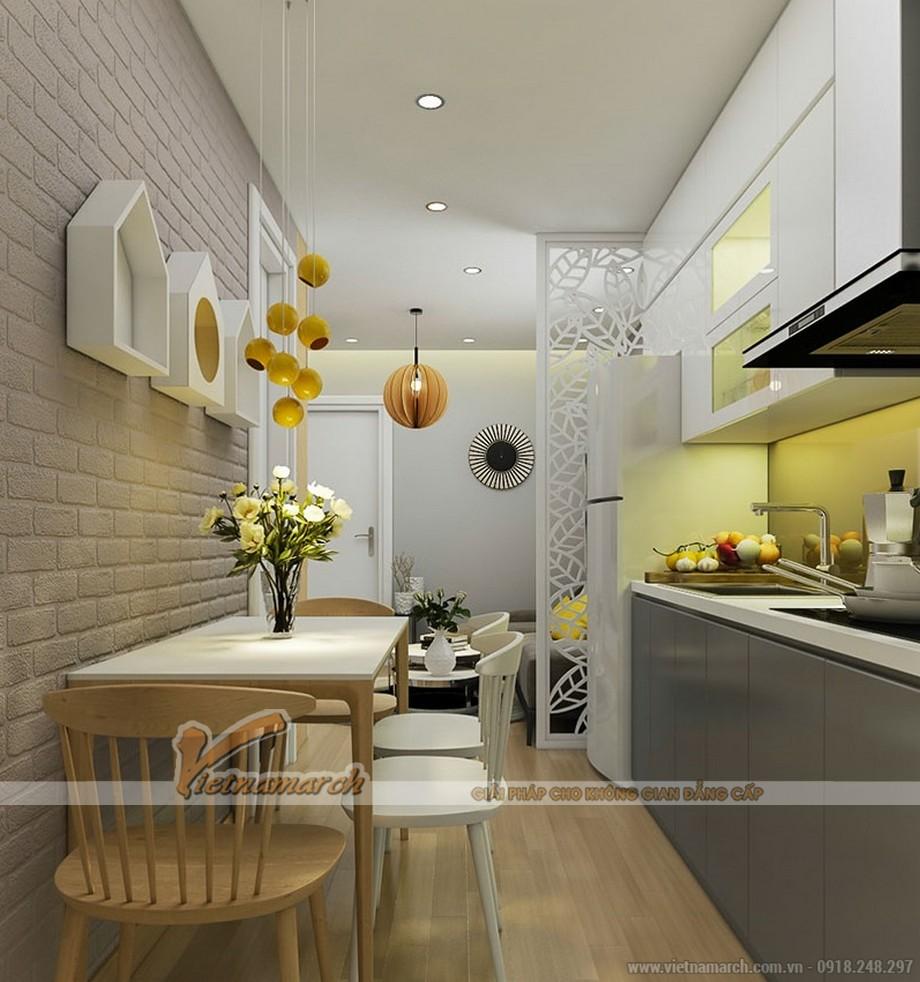 Thiết kế nội thất phòng ăn nhỏ nhắn xinh xắn