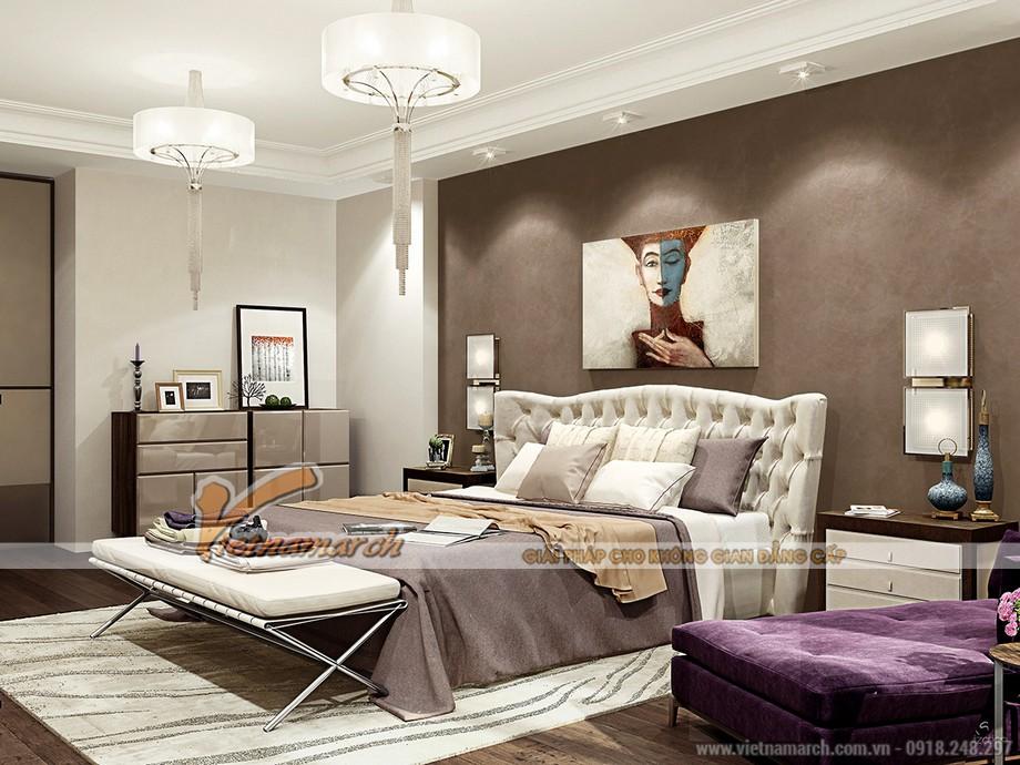 Nội thất phòng ngủ thiết kế phù hợp với nhu cầu sử dụng của các thành viên