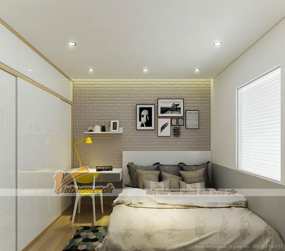 Thiết kế nội thất phòng ngủ vừa thông minh lại thoáng đãng đầy ánh sáng