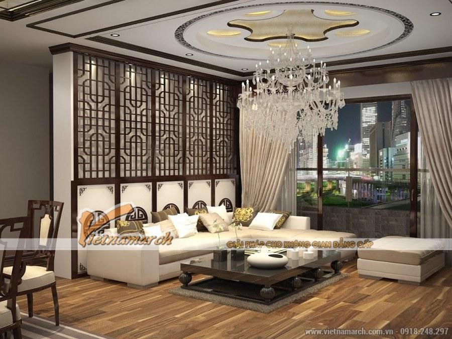 Hệ thống đèn chùm lớn là một trong những đặc điểm thiết kế nội thất cổ điển mang phong cách hoàng gia