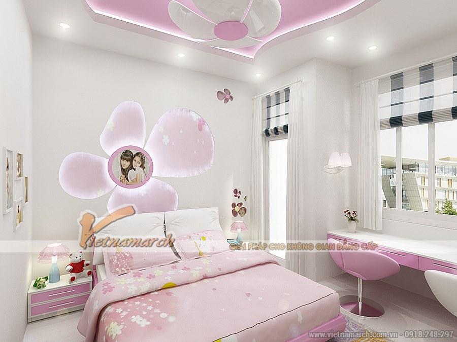 Hướng thiết kế nội thất phòng ngủ cho bé gái ảnh hưởng tới sự phát triển của trẻ