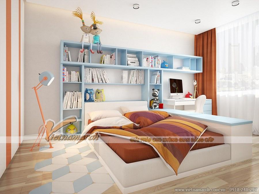 Thiết kế nội thất phòng ngủ cho trẻ vô cùng sáng tạo và độc đáo
