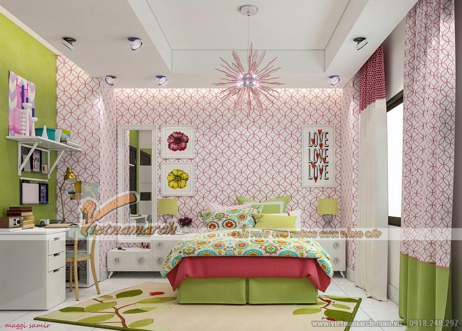 Vị trí kê giường rất quan trọng trong phòng ngủ của trẻ vì ảnh hưởng đến sự phát triển của trẻ