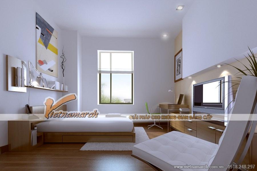 Gam màu sáng được ưa chuộng trong thiết kế nội thất phòng ngủ theo xu hướng hiện đại