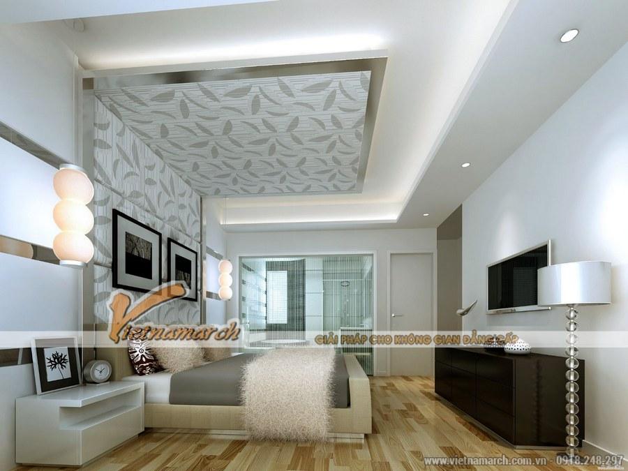 Sử dụng các chi tiết đơn giản có kích thước lớn - thiết kế nội thất phòng ngủ hiện đại