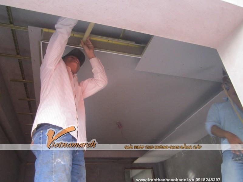 Đội thợ thi công trần thạch cao chuyên nghiệp của Vietnamarch