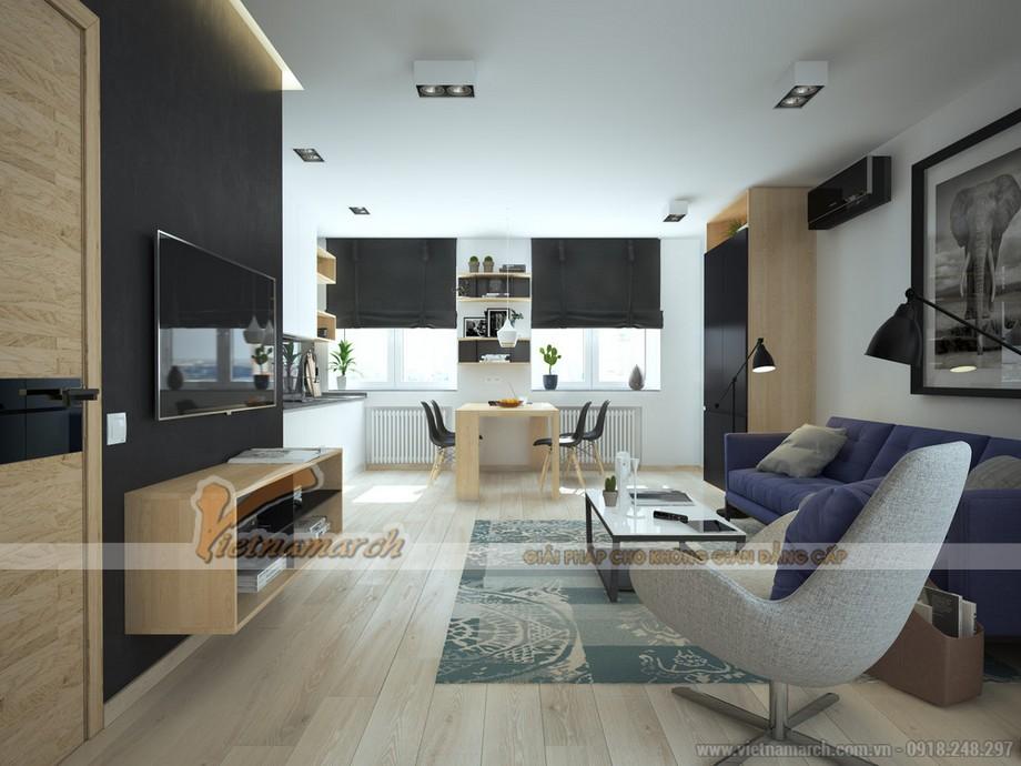 7 bí quyết thiết kế phòng khách nhỏ trở lên rộng rãi hơn