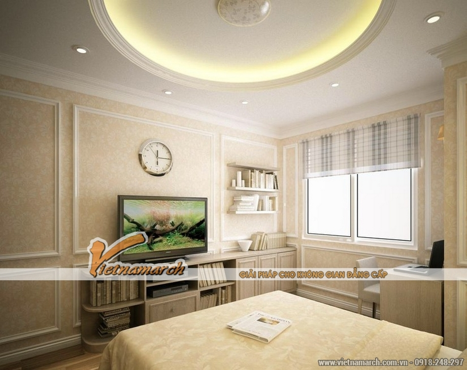 Thiết kế nội thất căn mẫu P7-12 chung cư Park Hill Times City