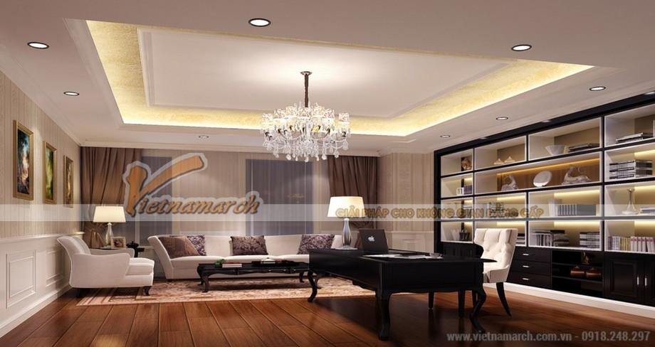 Nội thất đẳng cấp căn hộ C chung cư D'. Le Pont D'or – 36 Hoàng cầu – Tân Hoàng Minh