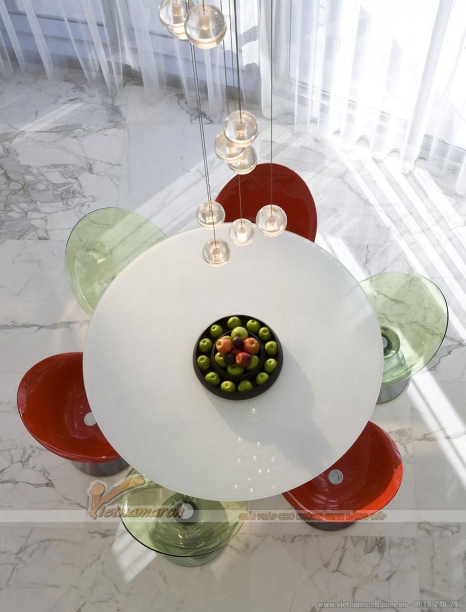 Thiết kế nội thất căn hộ penthouse sang trọng với phong cách đương đại