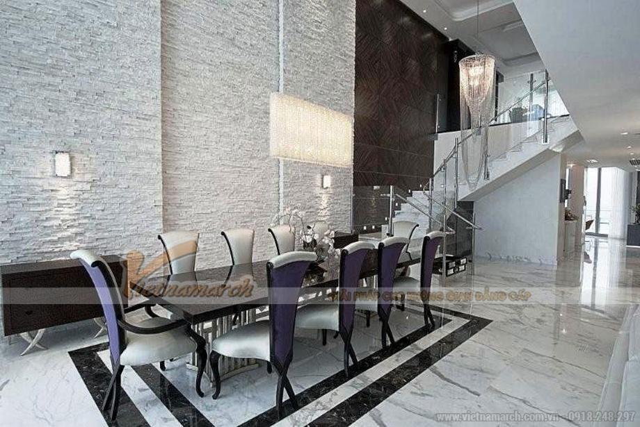 Thiết kế Penthouse đẹp như mơ với nội thất mang phong cách đương đại