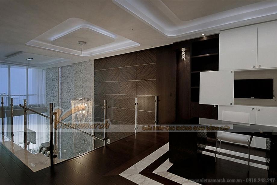 Thiết kế tầng 2 nội thất căn hộ Penthouse