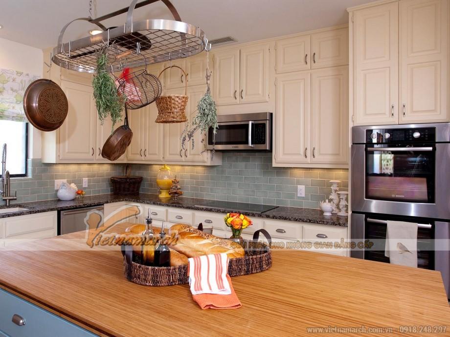 Ngắm những gam màu tủ bếp gỗ cao cấp sang trọng nhất