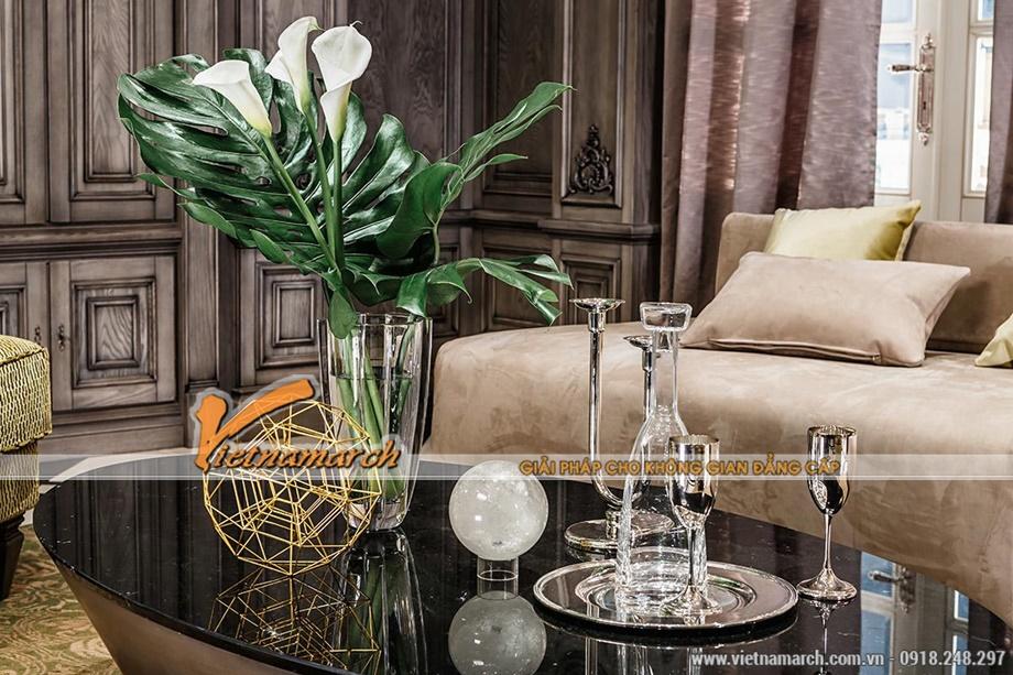 đố trang trí đơn giản mà cao quý - nội thất tân cổ điển