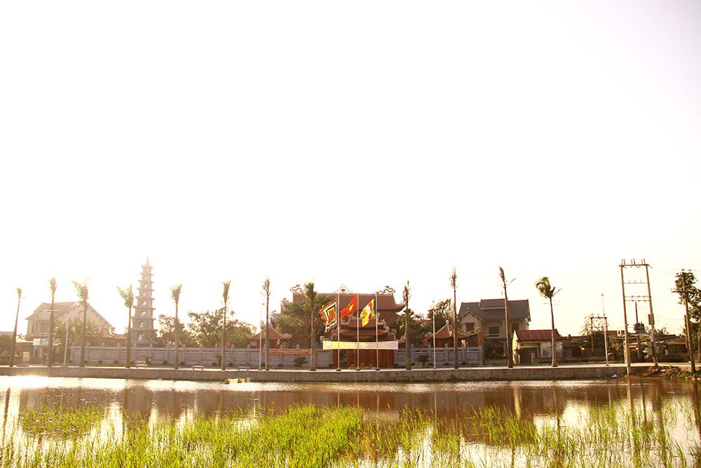 Tổng quan nhà thờ họ Trần - Hà Tĩnh với chi phí trên 100 tỷ đồng