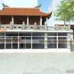 Thiết kế nhà thờ dòng họ 2 tầng cho nhà bác Liêm tại Hải Dương