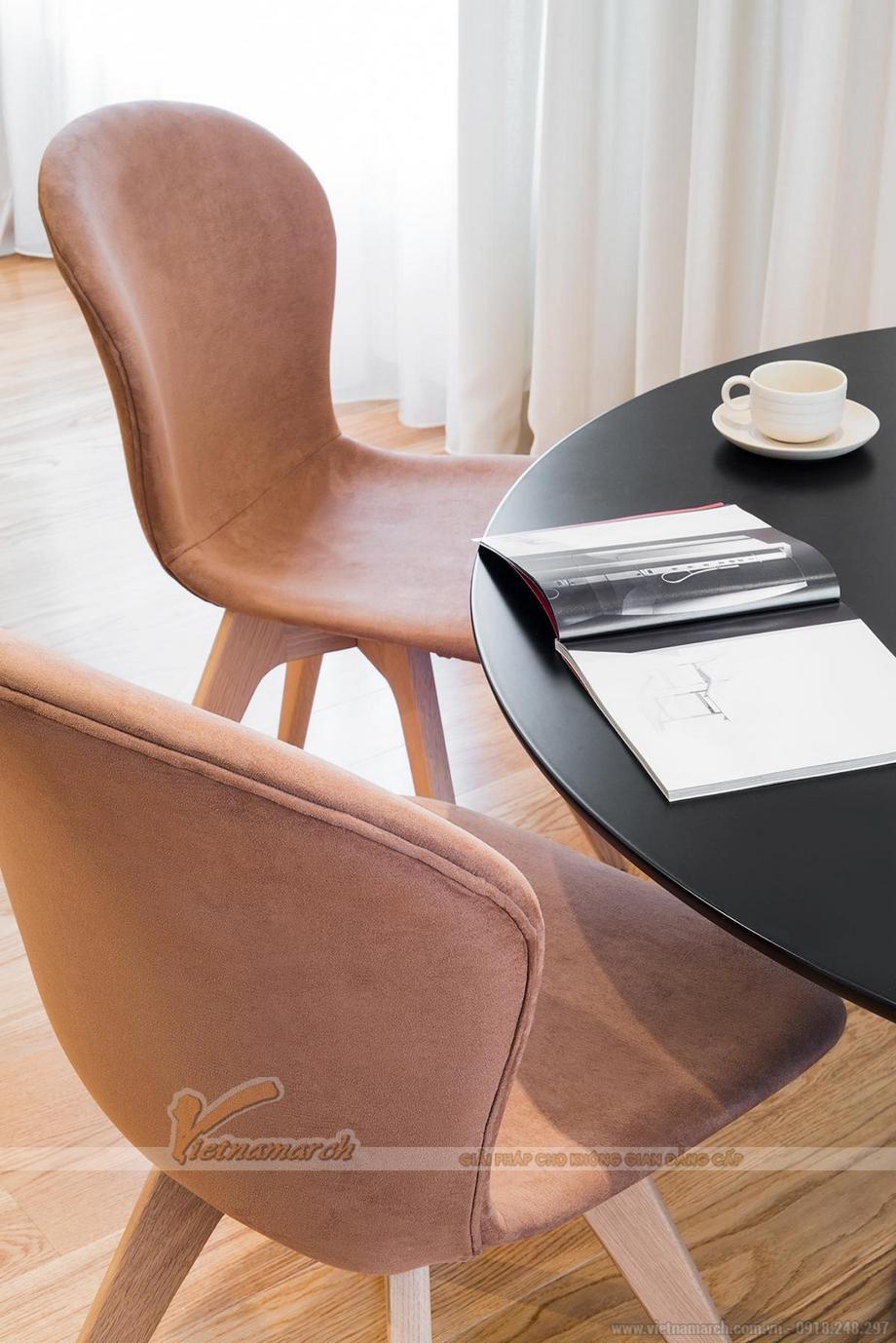 Bộ bàn ghế ăn thiết kế đơn giản mà hiện đại