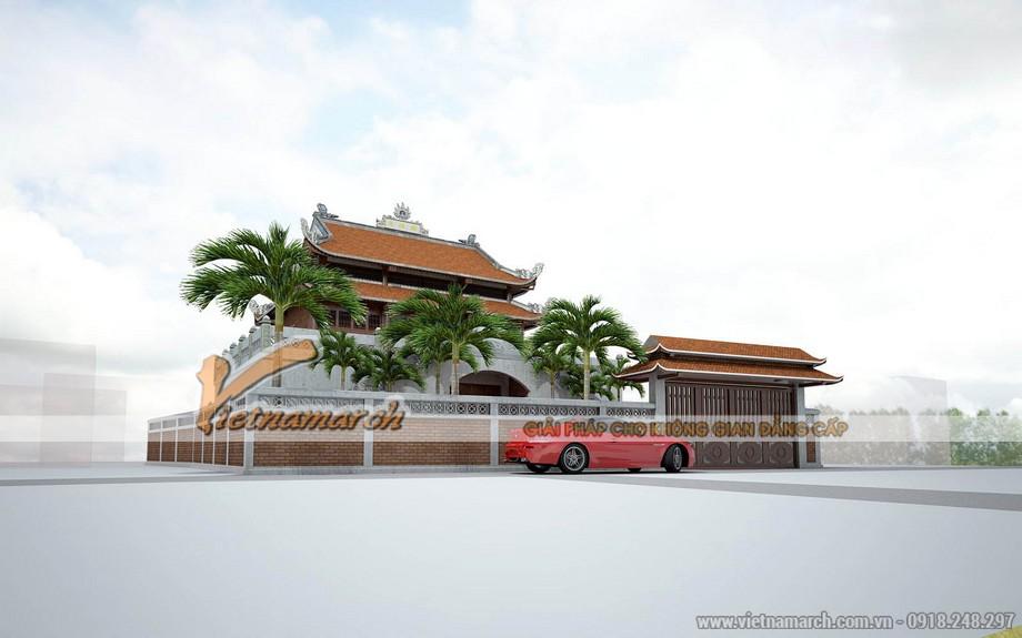 Công trình nhà thờ tổ tại Hà Tĩnh