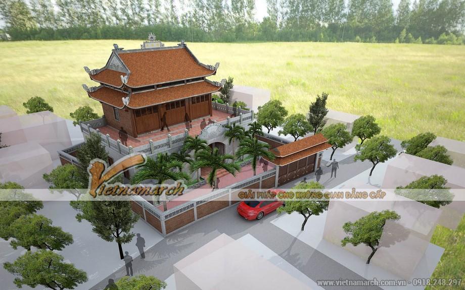 Thiết kế nhà thờ họ tại Hà Tĩnh