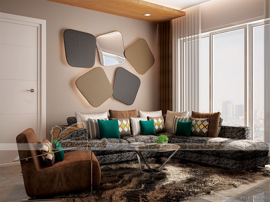 Phương án thiết kế căn hộ 03 park 5 gia đình nhà anh Tuấn