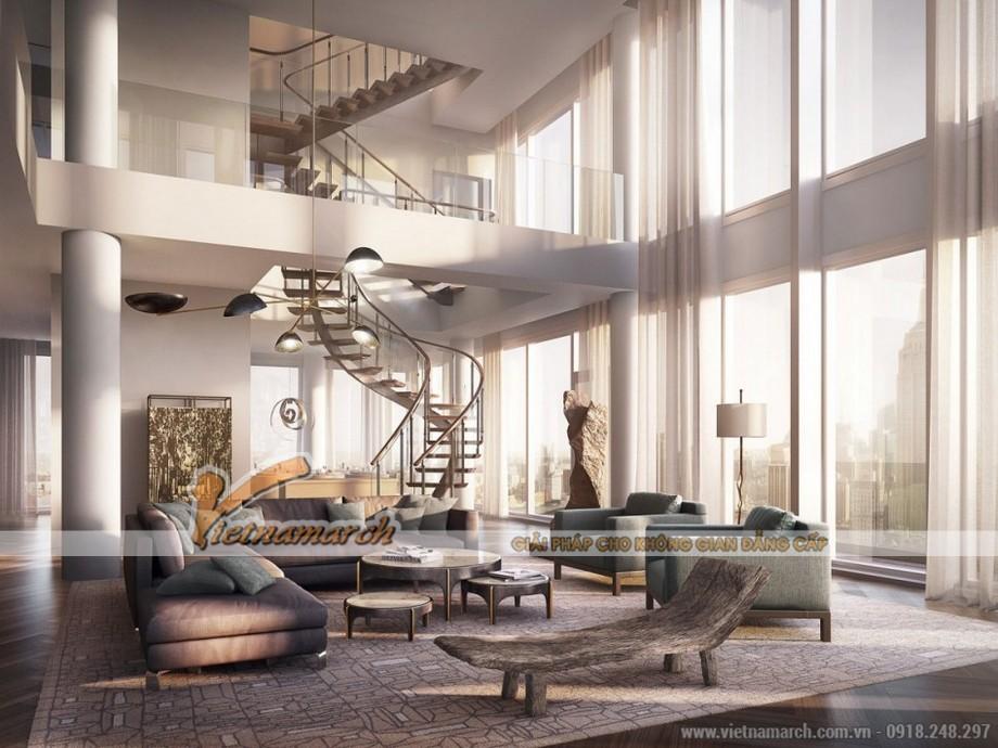 Kiểu cầu thang với thiết kế ấn tượng