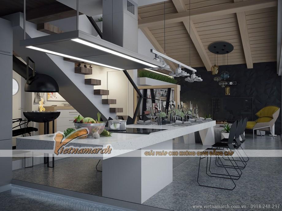 Thiết kế Penthouse hiện đại và cá tính