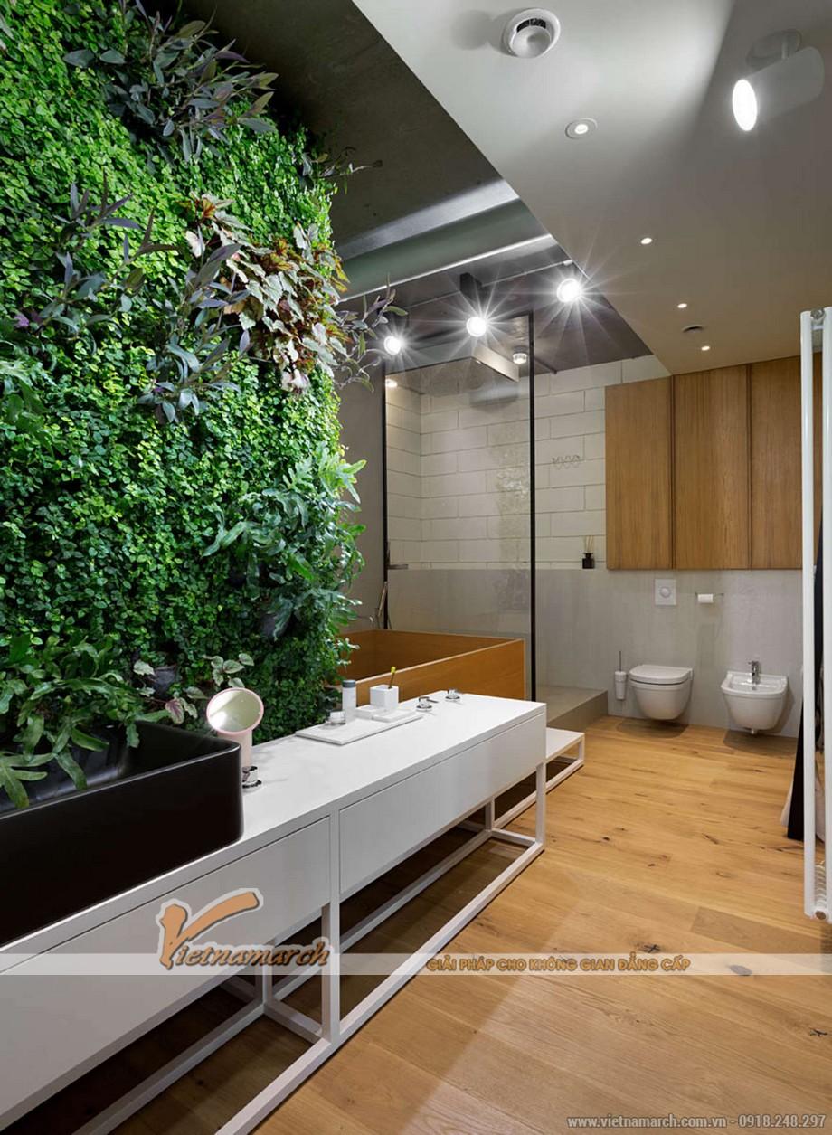 Phòng tắm hiện đại mà vẫn thân thiện với môi trường