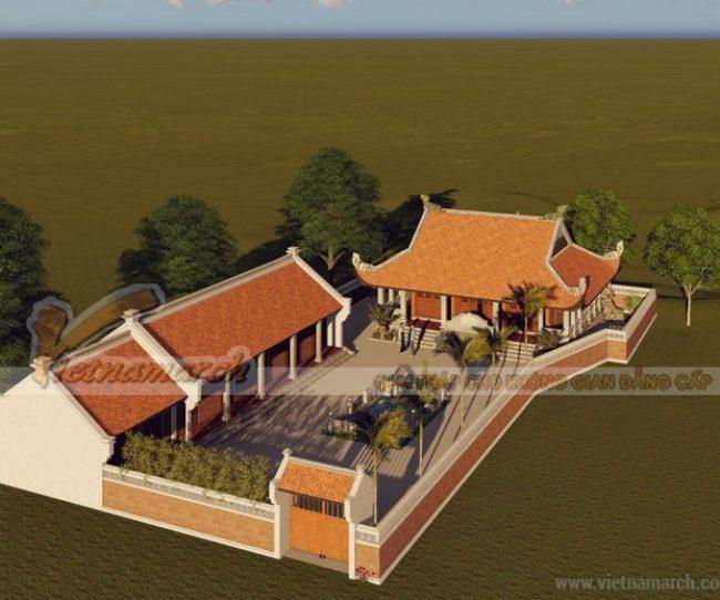 Thiết kế nhà thờ họ tại Ân Thi - Hưng Yên