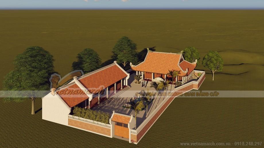Thiết kế nhà thờ họ tại Hưng Yên