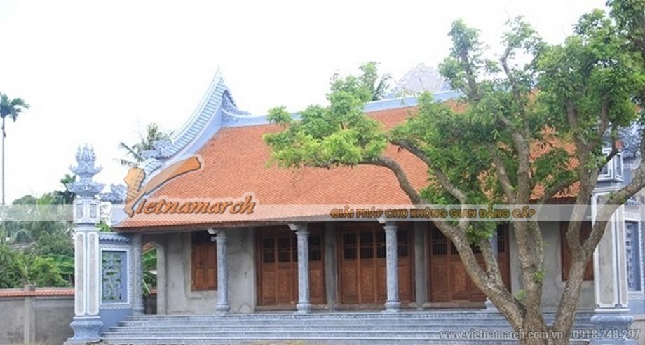 Kiến trúc thiết kế nhà thờ họ Nguyễn tại Kim Động- Hưng Yên