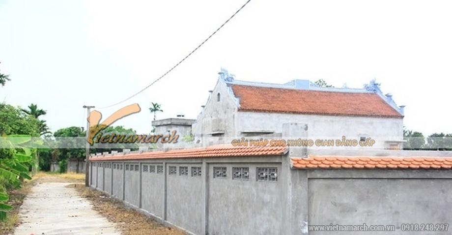 Hoàn thiện thi công xây dựng nhà thờ họ tại Kim Động - Hưng Yên
