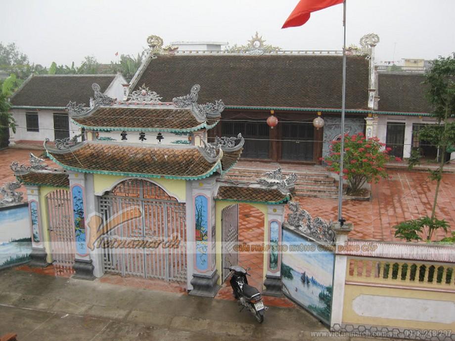 Tổng quan thiết kế nhà thờ họ Nguyễn Văn - Thái Hà ở Nghệ An
