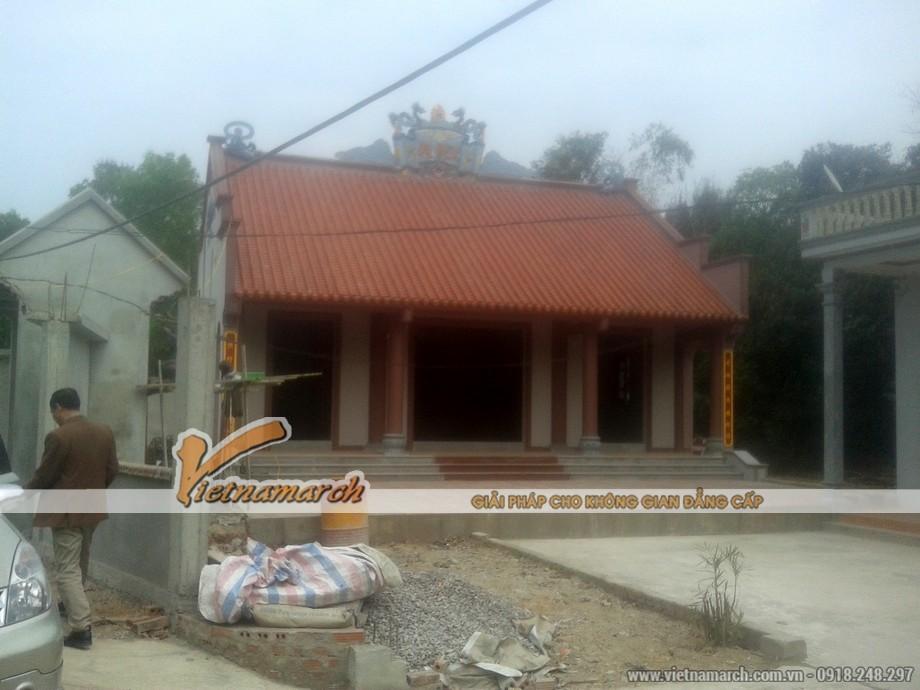 Nhà thờ họ mặt bằng chữ Đinh ở Gia Viễn - Ninh Bình