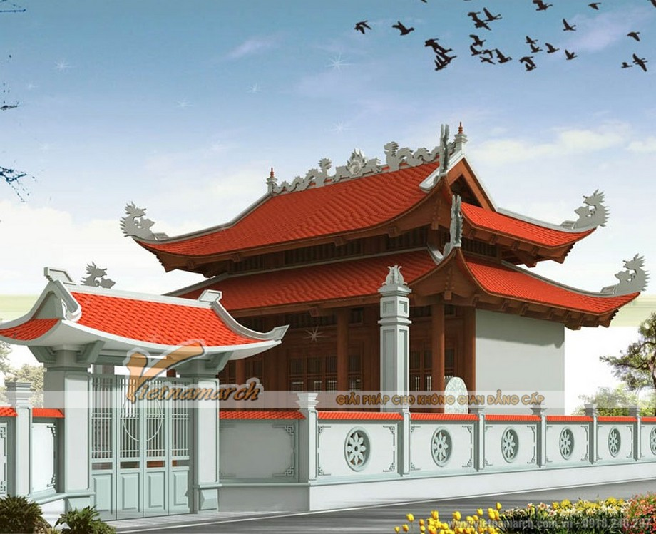 Thiết kế nhà thờ 8 mái ở Đông Triều- Quảng Ninh