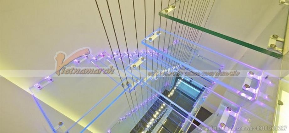Thiết kế nội thất cầu thang căn hộ Penthouse