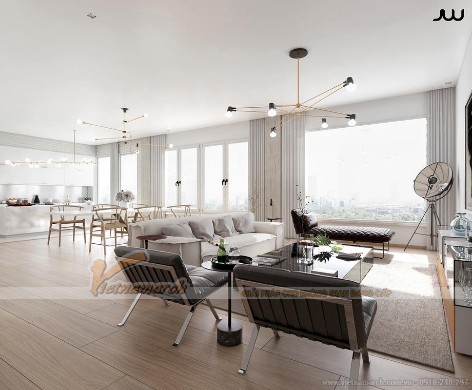 """Căn hộ Penthouse hiện đại, cá tính với thiết kế nội thất """"lạ"""""""